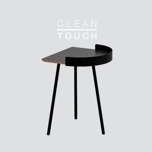 Half Track Table / CLEAN-TOUCH Dark Gray DP