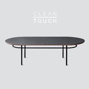 Track Sofa Table / CLEAN-TOUCH Dark Gray Mistake