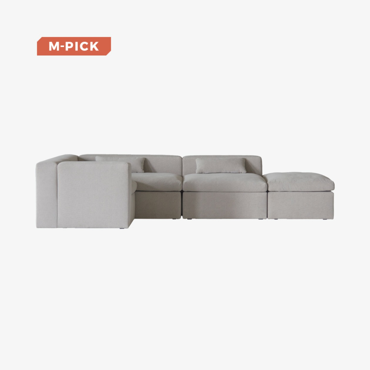 TIMELESS SOFA SOFT A+B+C+D