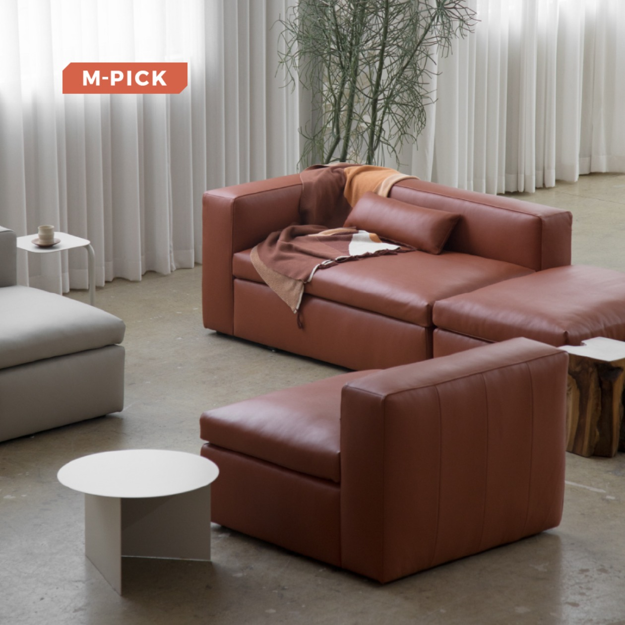 TIMELESS SOFT SOFA / LEATHER